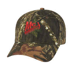 Customized Realtree™/Mossy Oak® Hunters Retreat Camo Cap