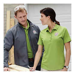 Customized Edge Short Sleeve Polo - Women's
