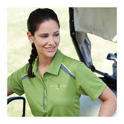 Customized Quinn Short Sleeve Polo - Women's