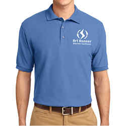 Customized Port Authority Silk Touch Polo-Cls