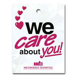 Customized We Care About You Litter Bag