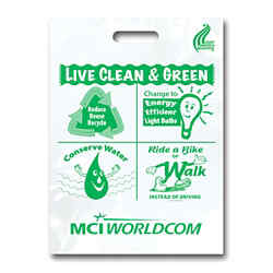 Customized Live Clean & Green Grab Bag