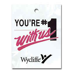 Customized You're #1 With Us Litter Bag