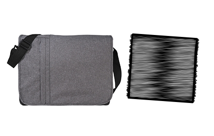 Messenger Bag Bundle - Black