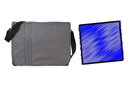Messenger Bag Bundle - Blue
