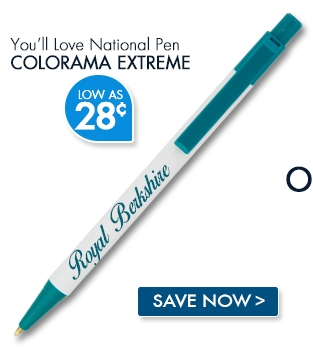 National Pen Colorama Extreme. Low as 28¢