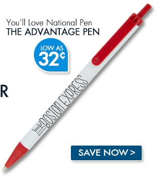 National Pen Advantage Pen. Low as 32¢
