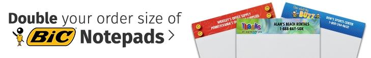BICnotepads