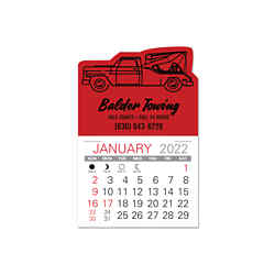Customized Value Stick Calendar - Wrecker