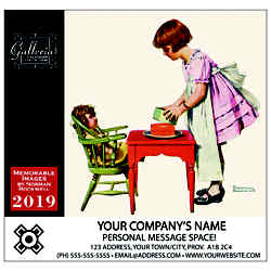 Customized Magnus Calendars - Norman Rockwell Illustrations