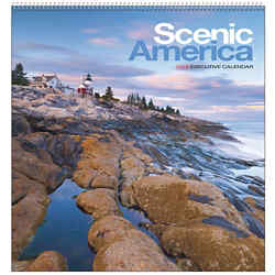 Customized Executive Appointment Calendar-Scenic America