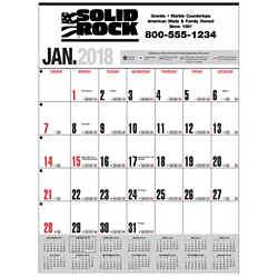 Customized Handi-Record™  Wall Calendar