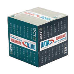 Customized Triumph® NUVO Cube Calendar-Modern-Full Colour