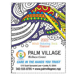Customized Triumph® Adult Coloring Book Planner