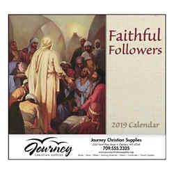 Customized GoodValue® Faithful Followers Calendar (Spiral)