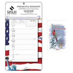 Customized Triumph® Full-Color Gardening Weekly Memo Calendar