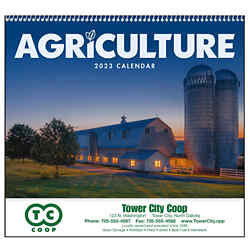 Customized GoodValue® Agriculture Calendar (Spiral)