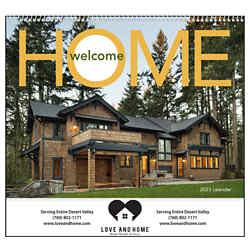 Customized GoodValue® Welcome Home Calendar (Spiral)