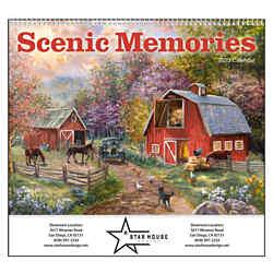 Customized GoodValue® Scenic Memories Calendar (Spiral)