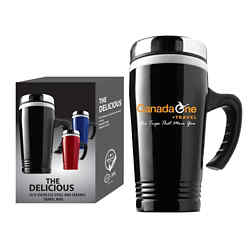 Customized The Delicious Travel Mug - 13 oz