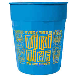 Customized Fluted Stadium Cup - 24 oz