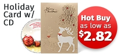 Hot Buy - Holiday Card with CD