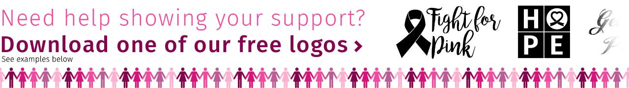 Show Your Support. Download one of these logos.