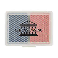 Customized Double Playing Cards In Case