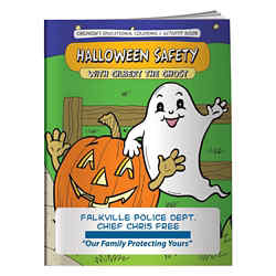 Customized Colouring Book-Halloween Safety