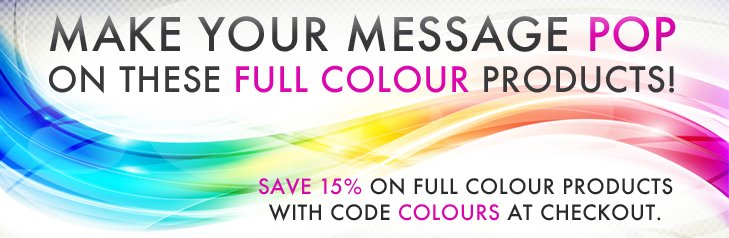 Full Colour - 15%