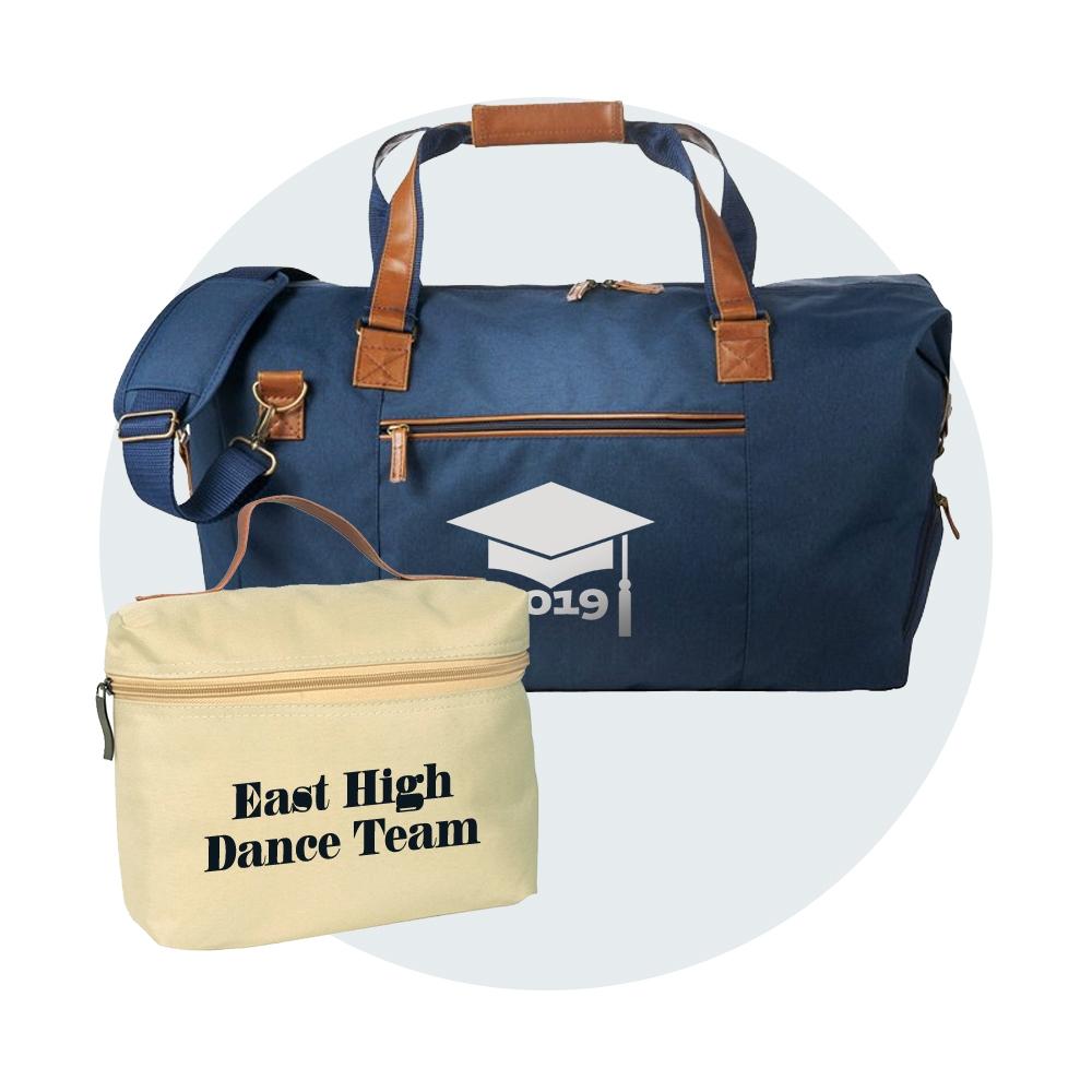 monogrammed Graduation Bags