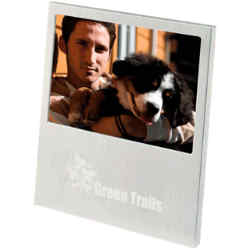 Customized Brushed Aluminum Photo Frame