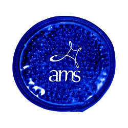Customized Plush Round Gel Hot/Cold Pack