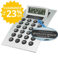 Customized Contempo Desk Calculator
