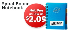 Hot Buy - Spiral Bound Notebook