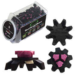 Customized Softspikes®-Black Widow Cleats-Q-Fit-25 Changes