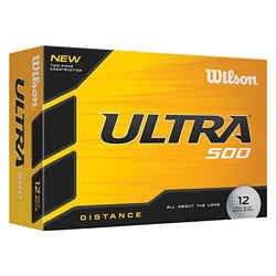 Customized Wilson® Ultra 500 Distance Golf Ball Std Serv