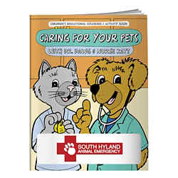 Customized Coloring Book: Caring for Your Pets
