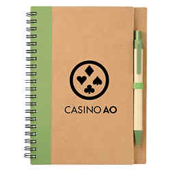 Customized The Eco Spiral Notebook & Pen