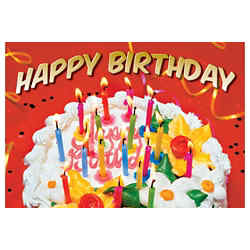 Customized Greeting Card - Birthday Celebration