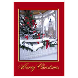 Customized Greeting Card - Festive Holiday
