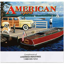 Customized America Remembered Calendar