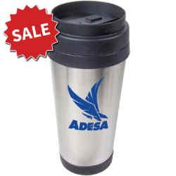 Customized Stainless Steel Travel Mug - 16oz
