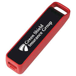 Customized UL Listed Stay Fast Power Bank with Suction Cups