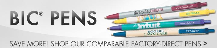 Landing Page - W - BIC Pens - PPC