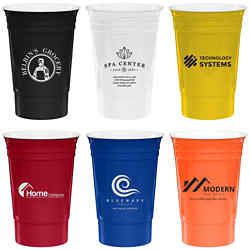 Customized Reusable Home Run Stadium Cup - 16 oz
