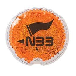Customized Small Round Gel Beads Hot/Cold Pack