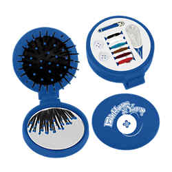 Customized 3 In 1 Kit - Brush, Mirror and Sewing Kit
