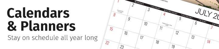 Landing Page - O - Calendars
