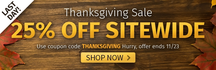 25% off Everything - Hurry offer ends 11/23. SHOP NOW!